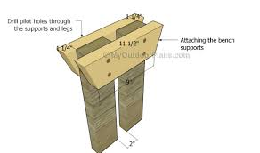 Picnic Table Plans Free Separate Benches by Picnic Table With Detached Benches Plans Myoutdoorplans Free
