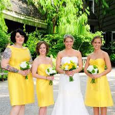 bridesmaid dress shops stretch satin bridesmaid dress yellow dresses for