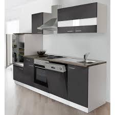 küche mit e geräten respekta küchenzeile ohne e geräte lbkb280wg 280 cm grau weiß