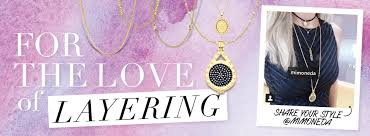 layered rings necklace images Layered jewelry look news jpg