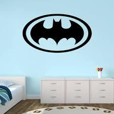 Boy Nursery Wall Decals New Design Batman Logo Wall Stickers For Bedroom Vinyl Baby Boy