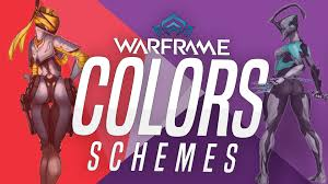 my color schemes warframe youtube