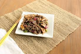 kosher noodles soba noodles with shiitake mushrooms and tofu