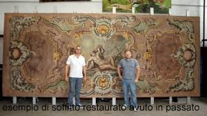soffitti dipinti coppia di soffitti dipinti tela soffitto dipinto su tela 1060004
