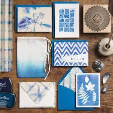 Indigo Home Decor Tie Dye Card Making Paper Source Blog