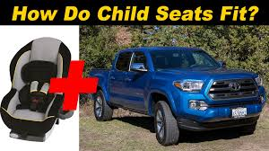 cars com toyota tacoma 2016 toyota tacoma child seat review