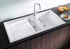 Kitchen Room Blanco Diamond U Double Bowl Undermount Kitchen Sink - Blanco kitchen sink reviews