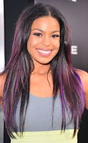 black hair with different color highlights in 2016 amazing photo
