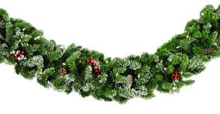 christmas garland with lights decorative garland hawthorne prelit christmas garland clear lights
