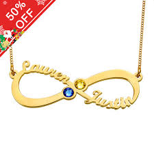 name necklace infinity images Infinity 4 names necklace with birthstones jpg
