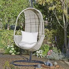 buy john lewis dante pod hanging chair john lewis