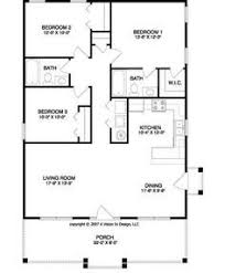 handicap accessible small house floor plans 3 bedroom 1000 sf