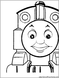 free coloring pages thomas tank engine 8107