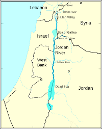 The Red Sea Map Israel Crossing Over The Red Sea Into The Jordan Valley Us
