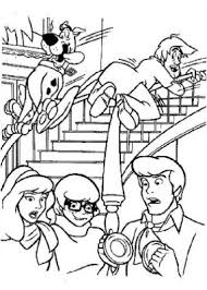 scooby doo coloring pages print kids coloring draw