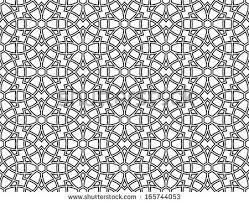 islamic ornament seamless pattern free vector
