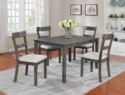 36 by 48 table henderson driftwood grey 5 piece dinette 399 00 table 48 x 36 x