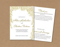 livret de messe mariage word les 25 meilleures idées de la catégorie wedding program template