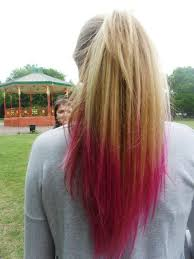 dye bottom hair tips still in style i love this dip n dye thing where you get a certain amount of your