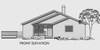 house plans with side garage sloping lot house plans house plan