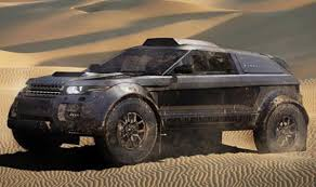 land rover desert range rover evoque 2012 dakar rally edition by rabe race cars