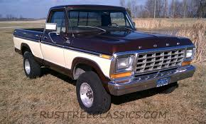 79 ford f150 4x4 for sale 1979 ford f150 4x4 swb bed custom 94k brown