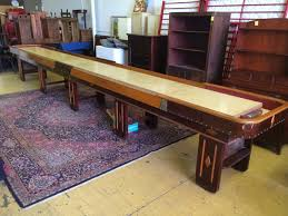 antique shuffleboard table for sale large auction withfurniture vintage shuffle board table and more