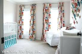 Nursery Curtain Curtains For Nursery The Nursery Reveal View Along The Way