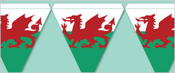 welsh flag bunting free early years u0026 primary teaching resources