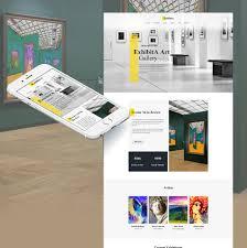 exhibita portrait gallery moto cms html template 63445