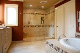 bathroom travertine tile design ideas dazzling small bathroom remodel floor plans using travertine