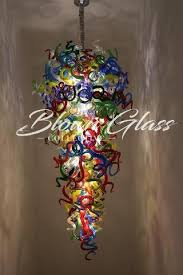 Glass Blown Chandelier Blown Glass Chandelier Looking For A Custom Or Chihuly Style