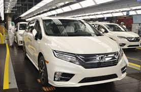 honda odyssey car parts 2018 honda odyssey production begins auto ng