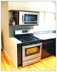 under cabinet microwave height microwave under cabinet image titled install a microwave step 1