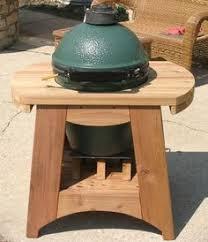 kamado joe grill table plans big green egg table plans large big green egg cedar table with