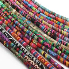 colored necklace cords images 5x45cm 3pcs soft rayon silk jewelry cord hollow rubber cords for jpg