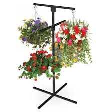 plant stand incredible plant stands for hanging baskets picture