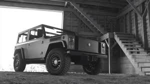 bollinger b1 world u0027s first all electric off road vehicle is a beautifully