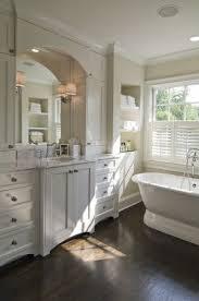 Best Bathroom Designs Images On Pinterest Room Bathroom - White cabinets dark floor bathroom