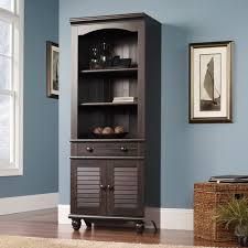 Sauder Harbor View Bookcase Sauder Bookcase With Doors Sauder Shoal Creek Bookcase With