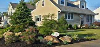 Rustic Landscaping Ideas by Front Yard Landscaping Massapequa Long Island Rustic Landscape