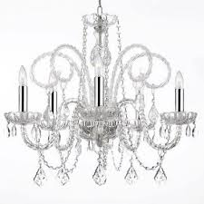 harrison lane 5 light crystal chandelier harrison lane empress 5 light crystal chandelier products