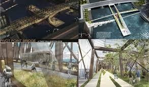 design competition boston boston society of architects announces northern avenue bridge ideas
