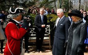 prince charles camilla wow onlookers while touring washington