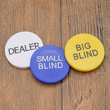 Small And Big Blind Dealer Buttons Collectable Poker Sets U0026 Accessories Ebay