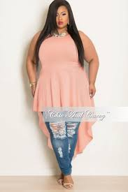 Light Blue High Low Dress New Plus Size Sleeveless High Low Dress Top In Light Blue U2013 Chic
