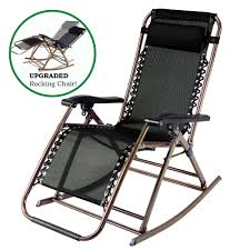 Recliner Rocking Chair Partysaving Infinity Zero Gravity Rocking Chair Outdoor Lounge