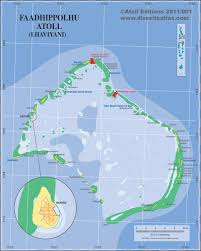 Map Of Maldives Guest Houses