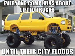Lifted Truck Meme - good guy lifted truck driver adviceanimals