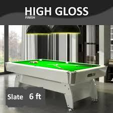 6 ft billiard table 6ft slate bed pool table high gloss radley pool tables